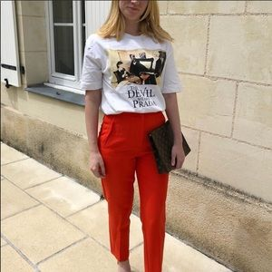 NWT Zara devil wears Prada t-shirt SZ M in Women's